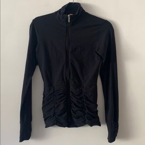 Lucy Black Workout Jacket in XS
